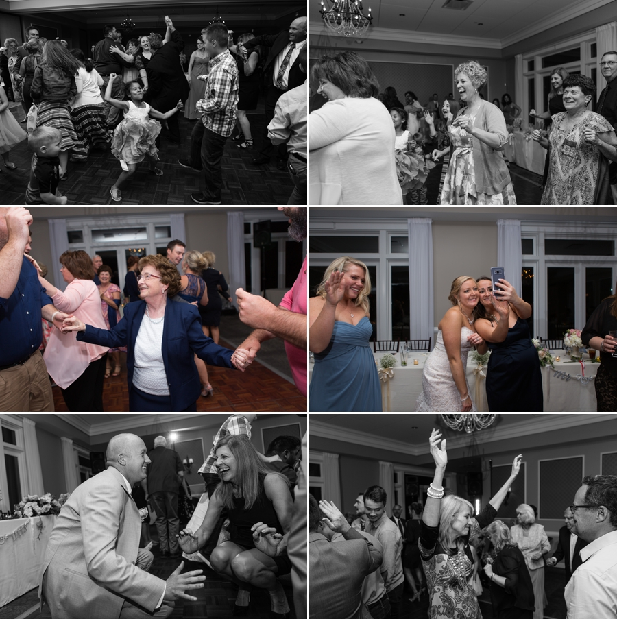 reception photos at wedgewood country club