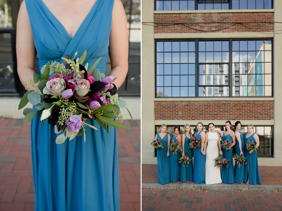 bridesmaid bouquet at the westin great southern columbus