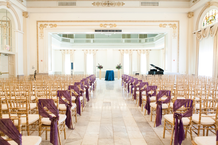 wide photo of the ballroom at the westin great southern