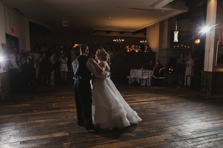 club at corazon first dance photo