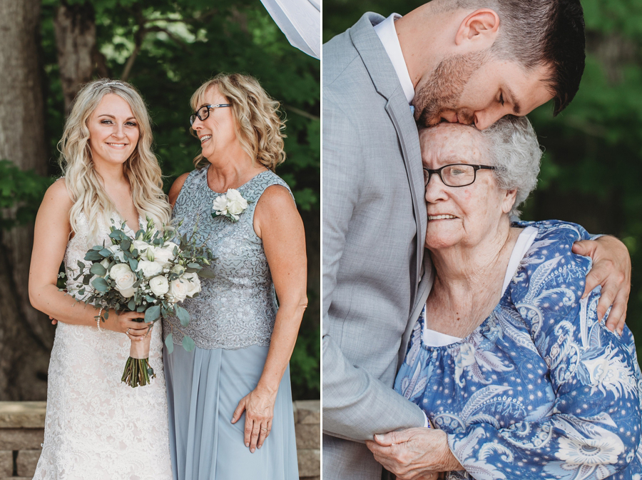 mother of bride and grandma of groom photos